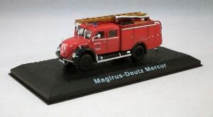 ATLAS EDITIONS MAGIRUS-DEUTZ MERCUR FIRE TRUCK JW05