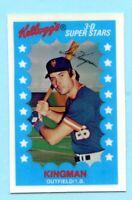 1982 Kelloggs  # 19 Dave Kingman
