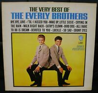 THE VERY BEST OF THE EVERLY BROTHERS -  LP WARNER BROS. K46008 UK ISSUE STEREO