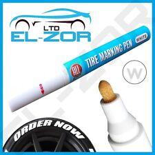 weiß Reifen Permanent Marker Lackstift Wasserfest Rad Gummi Profil Buchstaben