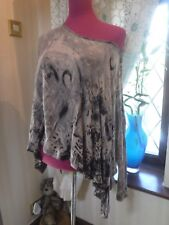 Stunning All Saints Reflection Top Size 8 (8-large) Excellent Condition