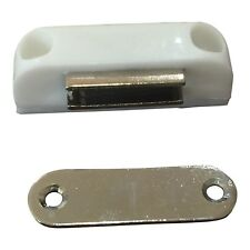 Pack of(2)Magnetic Door Catch Push with screws - Same day free ship US supplier