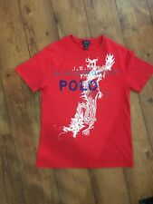 Polo Ralph Lauren Age 10-12 M Red T Shirt Dragon