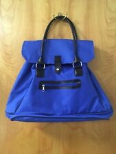 3 Piece travel bag tote pouch Blue NEW