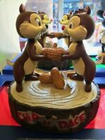 FIGURINE MED CHIP AND DALE DISNEYLAND PARIS NEW WITH BOX DISNEY