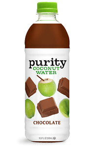 Purity Organic Chocolate Coconut Water 16.9 oz ( Pack of 12 )