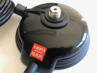 grosser PL-Magnetfuß mit 4m Kabel und PL-Stecker passend für YAESU FT-818ND