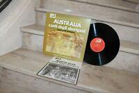 Lp 33 tours -  australia : canti degli aborigeni (albatros 1975)