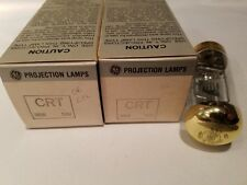 Lot of 2 GE General Electric CRT 120V 300W Projector Lamps Projection Bulbs