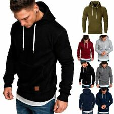 Sudaderas para Hombre Suéter con capucha de invierno Chaqueta abrigo cálido Moda