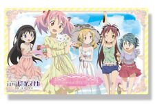 Puella Magica Madoka Kyouko Sayaka Mami Homura Ice Cream Card Rubber Play Mat