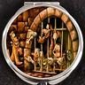 Mickey Donald Pluto Pirates Caribbean Disney Gift Beauty Makeup Compact Mirror