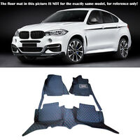 Car floor mats for BMW 3 5 7 Series F20 E90 F30 F10 F01 G11 X1 X3 X4 X5 X6 E70