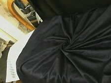 100%  PURE CASHMERE Velour by Johnston's of Elgin Black
