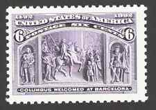 US.  2627 a. 6c. Columbus Welcomed at Barcelona. Mint. NH. 1992