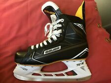 Bauer Supreme S160 Senior 9D Mens US 10.5 Good Used Euro 44.5 UK 9.5 Stainless