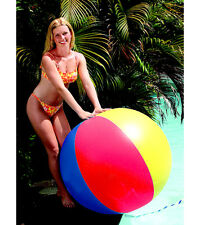"NEW Swimline JUMBO Beach Ball 46"" 117cm Classic Style Pool Toy 9002 Water Beach"