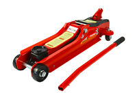 2 Ton Heavy Duty Low Profile Trolley Jack 80mm Hydraulic Car Jack Lift Garage