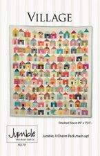 Miss Rosie's Quilt Co VILLAGE pattern 701 - a Charm Pack pattern FREE US SHIP