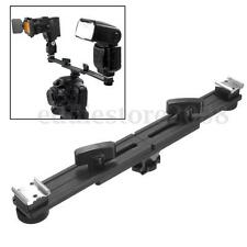 Macro 13'' 33cm Camera Speed Light Flash Hot Shoe Bracket Mount Holder Studio