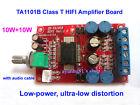 DC 12V TA1101B Class T 10W *2 Digital Stereo Audio Power Amplifier Board 10W+10W