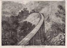 São Paulo Railway Railroad, Serra do Mar Viaduct Brazil Engineering Daniel Fox