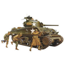 TAMIYA 35250 M4A3 Sherman Tank w/75mm Gun & 3 figs. 1:35 Military Model Kit