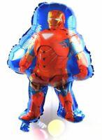 Helium Folienballons XL Iron Man Geburtstags Roboter Marvel Figur balloon