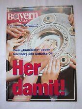 Orig.PRG   1.Bundesliga  1993/94  FC BAYERN MÜNCHEN - 1.FC NÜRNBERG + SCHALKE 04