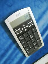 STAPLES Wired 2 in 1 NOTEBOOK/LAPTOP USB KEYPAD w/ CALCULATOR 14573 + Battery