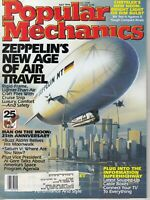 Popular Mechanics Mag. July 1994 Zeppelin's New Age of Air Travel
