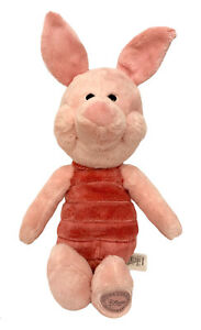 "Disney Winnie The Pooh PIGLET 15"" Stuffed Animal Toy Doll Tall Plush Cute"