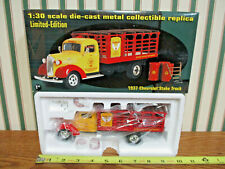 Golden Shell Motor Oil 1937 Chevrolet Stake Truck By First Gear 1/30th Scale