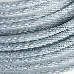 "1/2"" Galvanized Wire Rope Steel Cable IWRC 6x19 (100 Feet)"