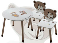 Kindermöbelset Kinderset Ted & Lily Kindertisch 2 x Kinderstuhl Sitzgruppe Tisch