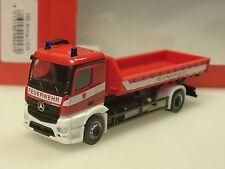 Herpa Mercedes Antos Wechsellader-LKW Feuerwehr Neuss - 092470 - 1/87