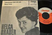 HELGA BRAUER Liebeskummer lohnt sich nicht / DDR SP 1964 AMIGA 450446