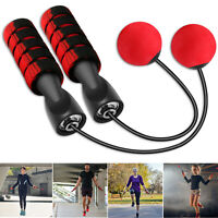 Exercise Jump Rope Skipping Ropeless Cordless Jumping Rope Workout Gym Fitness