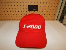 New red Ferrari factory Formula One F2008 F1 Ball cap Official hat Very rare