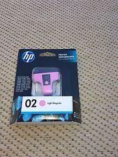 HP 02 - Light Magenta - EXP.  2015 - New & Sealed