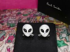 Paul Smith Cufflinks Alien Design (GENUINE) RRP £89 Black