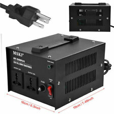 220V to 110V Electrical Step Up & Down Voltage Converter Heavy Duty Transformer