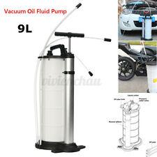 9 Liter Vacuum Oil Fluid Extractor Transfer Pump Car Fuel Petrol Coolant Manual