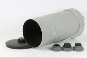 ZEISS Jena 1000mm f/5,6 Spiegelobjektiv mit Adapter - SNr: 7370551