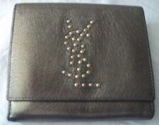 Yves Saint Laurent Metallic Leather Ladies Wallet