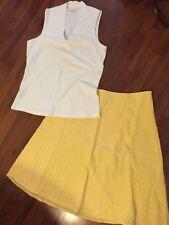 Womens Size 10 Large Skirt Set Lot Ann Taylor Liz & Co Lace Sleeveless
