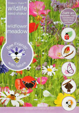 Wildlife Meadow Flowers 10,000 Seeds/Shake n' Rake/20 Types/Covers 25 sq m/2022
