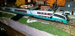 N SCALE GAUGE KATO 10-1411 SUPER VIEW ODORIKO PASSENGER TRAIN INTERIOR LIGHTING