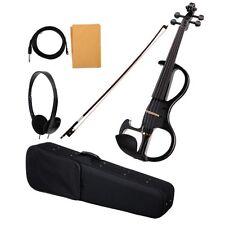 39084  - Classique Cantabile EV-90BK 4/4 violon electrique noir