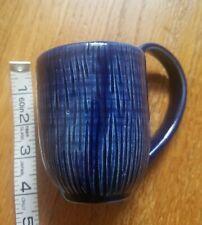 Handcrafted Cobalt Blue Pottery Coffee Mug